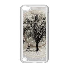 Snow Snowfall New Year S Day Apple Ipod Touch 5 Case (white)