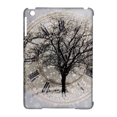 Snow Snowfall New Year S Day Apple Ipad Mini Hardshell Case (compatible With Smart Cover)