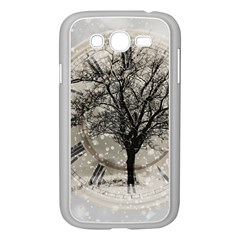 Snow Snowfall New Year S Day Samsung Galaxy Grand Duos I9082 Case (white)