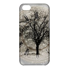 Snow Snowfall New Year S Day Apple Iphone 5c Hardshell Case