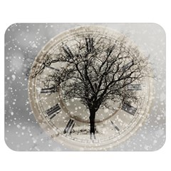 Snow Snowfall New Year S Day Double Sided Flano Blanket (medium)