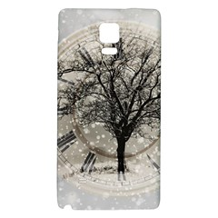 Snow Snowfall New Year S Day Galaxy Note 4 Back Case