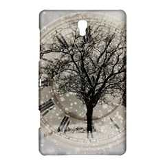 Snow Snowfall New Year S Day Samsung Galaxy Tab S (8 4 ) Hardshell Case