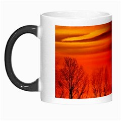 Tree Series Sun Orange Sunset Morph Mugs