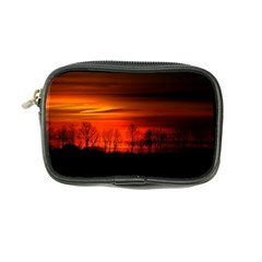Tree Series Sun Orange Sunset Coin Purse