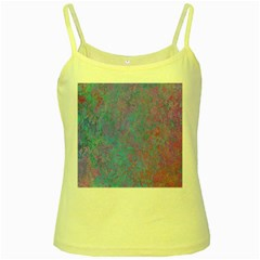 Background Texture Pattern Yellow Spaghetti Tank
