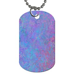 Background Texture Pattern Dog Tag (two Sides)