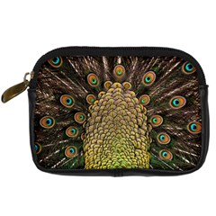 Peacock Feathers Wheel Plumage Digital Camera Cases