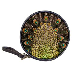 Peacock Feathers Wheel Plumage Classic 20 Cd Wallets