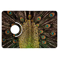 Peacock Feathers Wheel Plumage Kindle Fire Hdx Flip 360 Case
