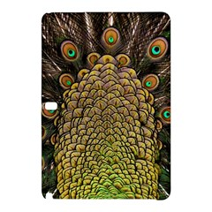 Peacock Feathers Wheel Plumage Samsung Galaxy Tab Pro 12 2 Hardshell Case