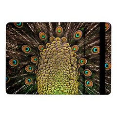 Peacock Feathers Wheel Plumage Samsung Galaxy Tab Pro 10 1  Flip Case