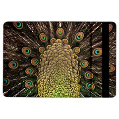 Peacock Feathers Wheel Plumage Ipad Air 2 Flip