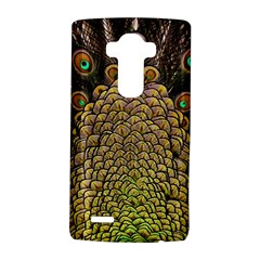 Peacock Feathers Wheel Plumage Lg G4 Hardshell Case