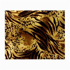 Pattern Tiger Stripes Print Animal Small Glasses Cloth (2 Side)