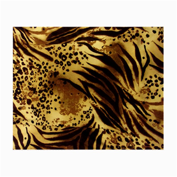 Pattern Tiger Stripes Print Animal Small Glasses Cloth (2-Side)
