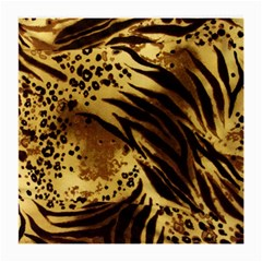 Pattern Tiger Stripes Print Animal Medium Glasses Cloth