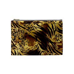 Pattern Tiger Stripes Print Animal Cosmetic Bag (medium)