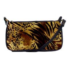 Pattern Tiger Stripes Print Animal Shoulder Clutch Bags