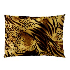 Pattern Tiger Stripes Print Animal Pillow Case (two Sides)