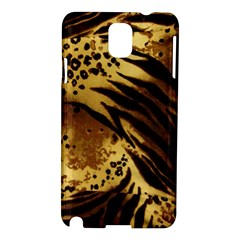 Pattern Tiger Stripes Print Animal Samsung Galaxy Note 3 N9005 Hardshell Case