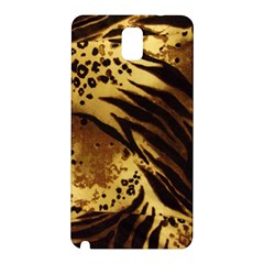 Pattern Tiger Stripes Print Animal Samsung Galaxy Note 3 N9005 Hardshell Back Case