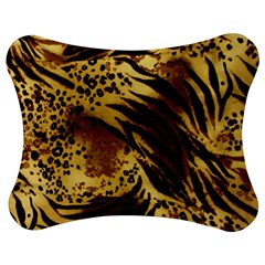 Pattern Tiger Stripes Print Animal Jigsaw Puzzle Photo Stand (bow)