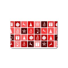 Christmas Map Innovative Modern Magnet (name Card)
