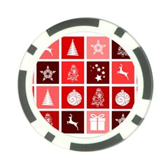 Christmas Map Innovative Modern Poker Chip Card Guard