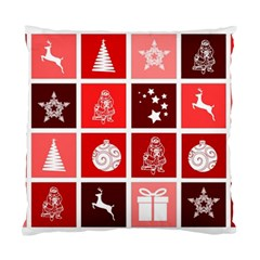 Christmas Map Innovative Modern Standard Cushion Case (two Sides)