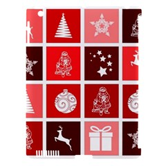 Christmas Map Innovative Modern Apple Ipad 3/4 Hardshell Case (compatible With Smart Cover)