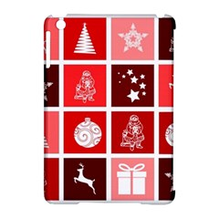 Christmas Map Innovative Modern Apple Ipad Mini Hardshell Case (compatible With Smart Cover)