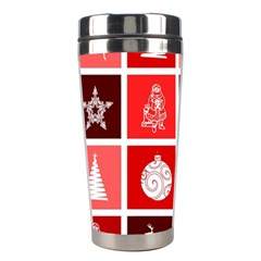 Christmas Map Innovative Modern Stainless Steel Travel Tumblers