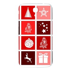 Christmas Map Innovative Modern Samsung Galaxy Mega I9200 Hardshell Back Case