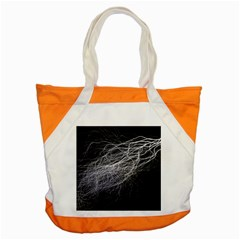 Flash Black Thunderstorm Accent Tote Bag
