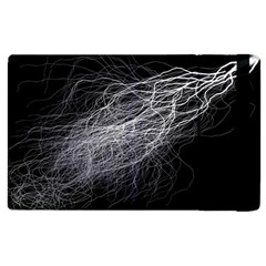 Flash Black Thunderstorm Apple Ipad 3/4 Flip Case
