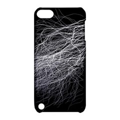 Flash Black Thunderstorm Apple Ipod Touch 5 Hardshell Case With Stand