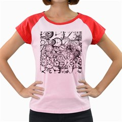 Time Clock Watches Time Of Women s Cap Sleeve T Shirt