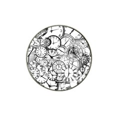 Time Clock Watches Time Of Hat Clip Ball Marker