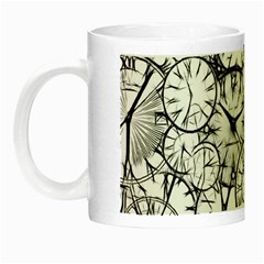 Time Clock Watches Time Of Night Luminous Mugs