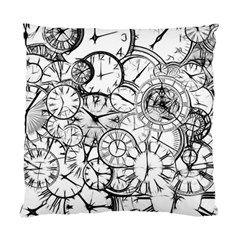 Time Clock Watches Time Of Standard Cushion Case (two Sides)