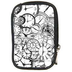 Time Clock Watches Time Of Compact Camera Cases