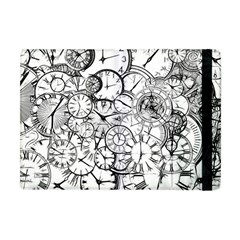 Time Clock Watches Time Of Apple Ipad Mini Flip Case