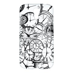 Time Clock Watches Time Of Samsung Galaxy S4 I9500/i9505 Hardshell Case