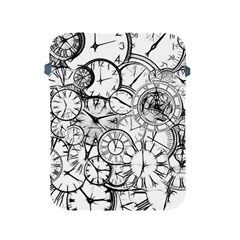 Time Clock Watches Time Of Apple Ipad 2/3/4 Protective Soft Cases