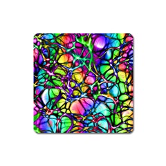 Network Nerves Nervous System Line Square Magnet