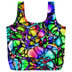 Network Nerves Nervous System Line Full Print Recycle Bags (l)