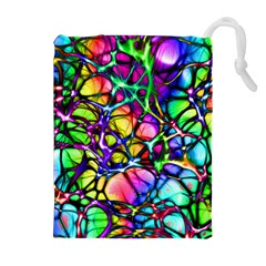 Network Nerves Nervous System Line Drawstring Pouches (extra Large)