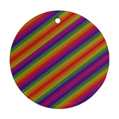Spectrum Psychedelic Ornament (round)