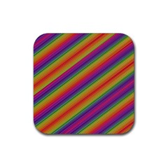 Spectrum Psychedelic Rubber Coaster (square)